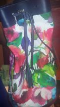 More Caffrey Van Horn floral duffel and...