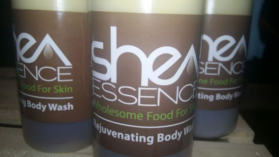 Shea Essence smells amazing, is made with the most organic ingredients, and also gives back to the community!
