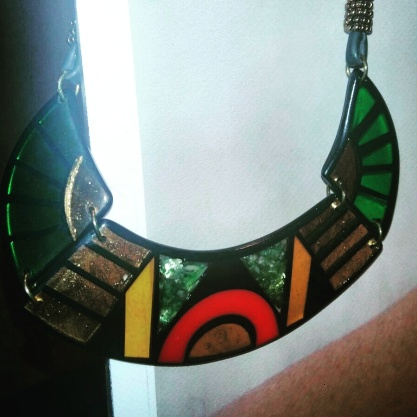 The African-inspired necklace that we adore by Annalay Accessories.